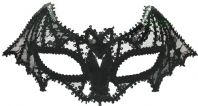 Ladies Bat Lace Mask